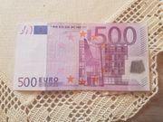 500 Euro Schein S-Serie S00204222598