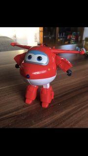 Super Wings Transforming Jett Spielzeugfigur