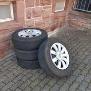 Original VW Tiguan Winterkompletträder Bridgestone