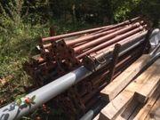Bau Stützen 190 bis 320
