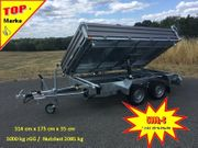 Humbaur 3000 kg Dreiseitenkipper Stahl