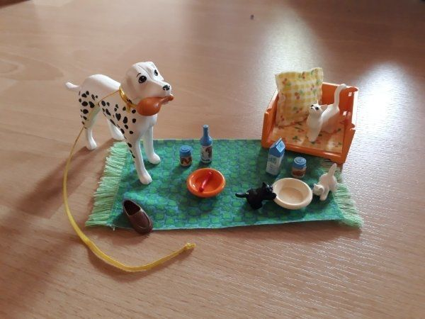 LEGO Scala Vier Tierfreunde Art