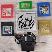 Gameboy advance sp mit Pokemon
