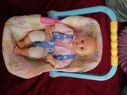 Puppen-Baby-Maxi Cosi Retro Vintage