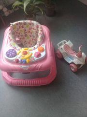 Baby Lauflernhilfe Gehfrei Spielecenter Quad