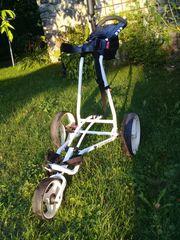 gebrauchter Golftrolley