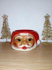Alte Weihnachtsmann Schale DDR-1982 Bestzustand