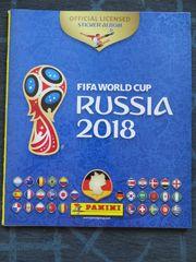 2 x Panini WM 2018 Album