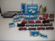 MÄRKLIN 4 Lokomotiven OVP darkblue