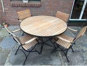 Möbel-Set Tisch 4 Stühle