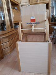 Kinderhochstuhl aus Holz Original Storchenmühle