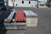 97 m² gebrauchtes Gerüst Stahlgerüst