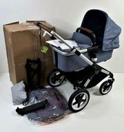 Bugaboo Fox kompletter Kinderwagen Aluminium