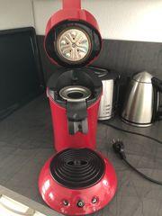 Kaffeepad Maschine Senseo original rot