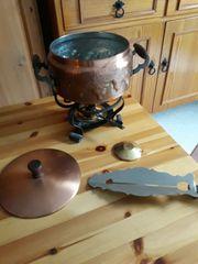 Feuerzangenbowle aus Kupfer