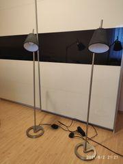 Zwei Stehlampen