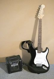 E-Gitarre Volcano Rock-A-Teer mit Zubehör
