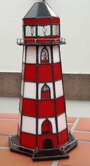 Leuchtturm 3D aus Tiffanyglas