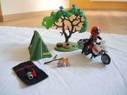 Playmobil Motorrad Camper Nr 5438