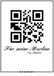 Poster QR-Code mit deiner Widmung