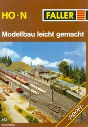 FALLER Modellbau 842 - Handbuch für