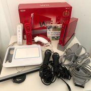Limitierte Wii in Rot Spiele