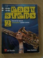 Saxophon Buch Easy Steps 2