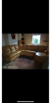 Couch aus echtem italienischen Leder