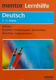 Mentor Lernhilfe Deutsch Aufsatz 5 -