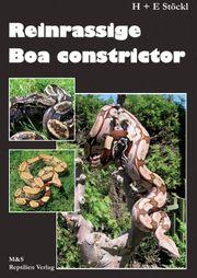 Buch Reinrassige Boa Constrictor H