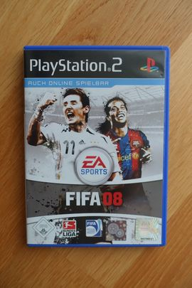 FIFA 2008 für die Playstation 2 PS2