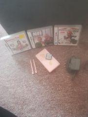 Nintendo DS Lite 4 Spiele