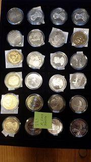 10 EUR Gedenkmünzen BRD 40