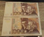 2000 Deutsche Mark echt 1991