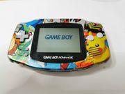 Gameboy Advance von Nintendo Pikachu