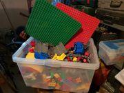 2 Kisten Gebrauchtes Lego Duplo