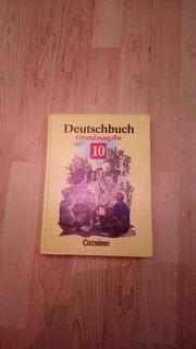 Altes Deutschbuch Grundausgabe von Cornelsen