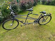 Tandem Fahrrad 24 Gang Hydraulikbremsen