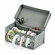 Zeller Geschenkband-Box Aufbewahrungsbox Polyester 29x15x12