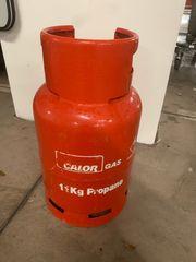 Gasflasche 11 kg Calor Propangas