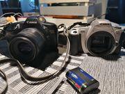 Cameras Canon EOS 850 und