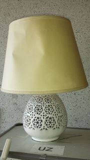 Vintage Lampe Nachttischlampe Retro