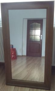 For Sale Oak Mirror - Solid