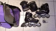 Inline Skates Rollschuhe Marke Hudora