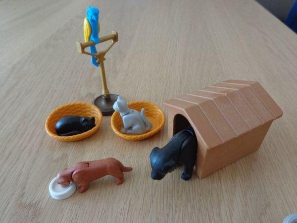 Spielzeug Playmobil - Haustiere mit div