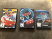 DVDs Cars 1-3