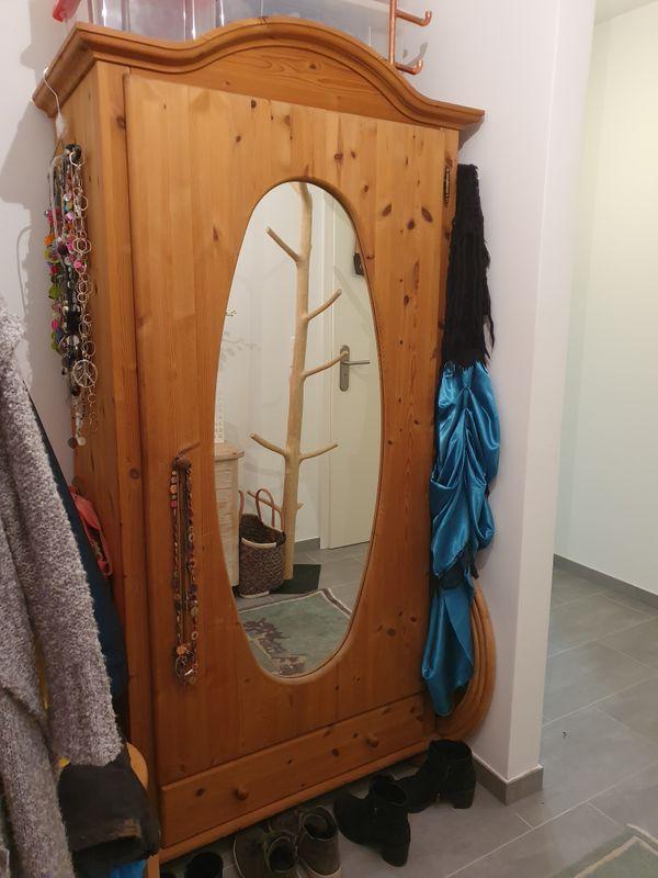 Spiegelschrank Garderobenschrank Kiefer Masdib In Mauer