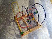 Motorikwürfel Motorikschleife Spielwürfel Lernspielzeug Holz