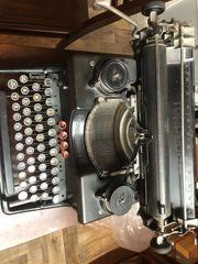 Alte Schreibmaschine Torpedo 6