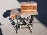 Antike Nähmaschine von Biesolt Locke